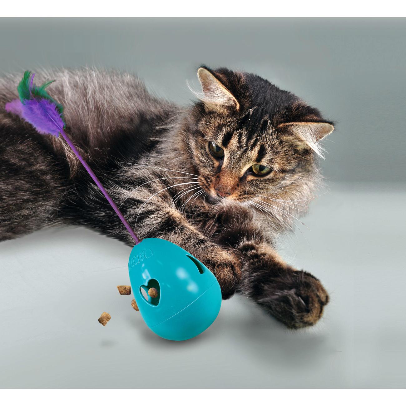 KONG Katzenspielzeug Infused Tippin Treat, Bild 3