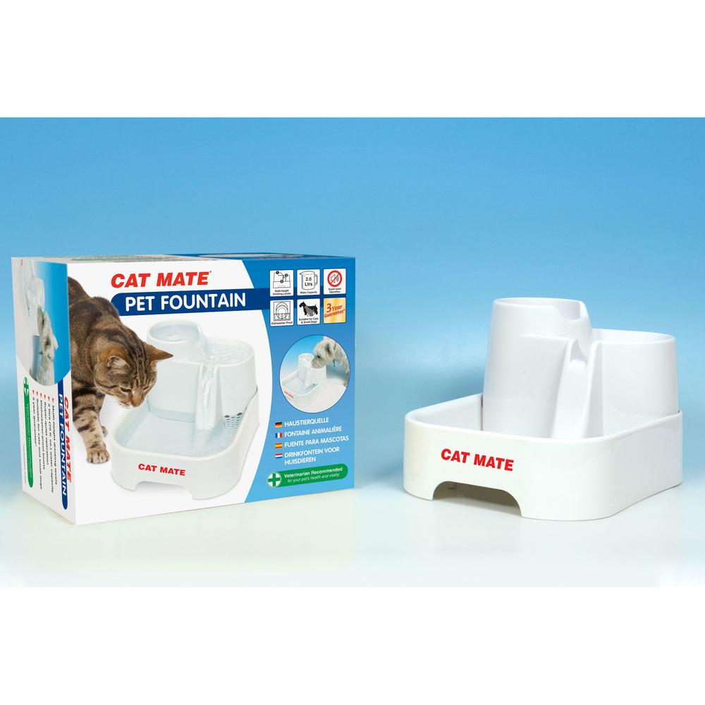 CAT MATE Haustierquelle Trinkbrunnen für Hunde und Katzen, Bild 2