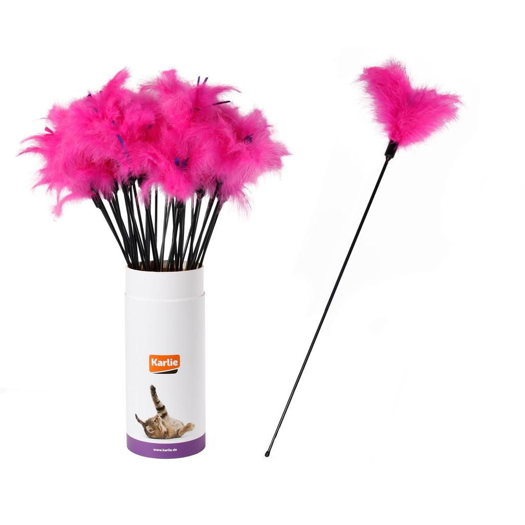 Karlie Flamingo Katzenwedel mit Softfedern