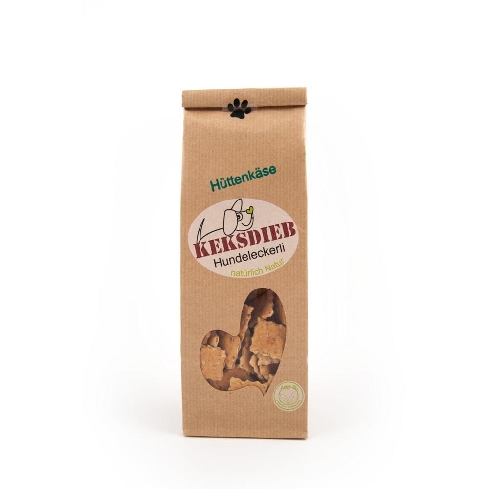 Keksdieb Hüttenkäse Parmesan Ecken Hundeleckerli, 100g