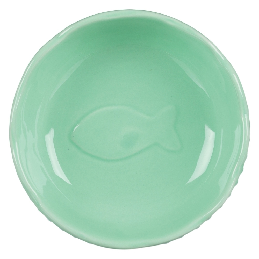 TRIXIE Keramiknapf für Katzen Fischmuster 24783, Bild 2