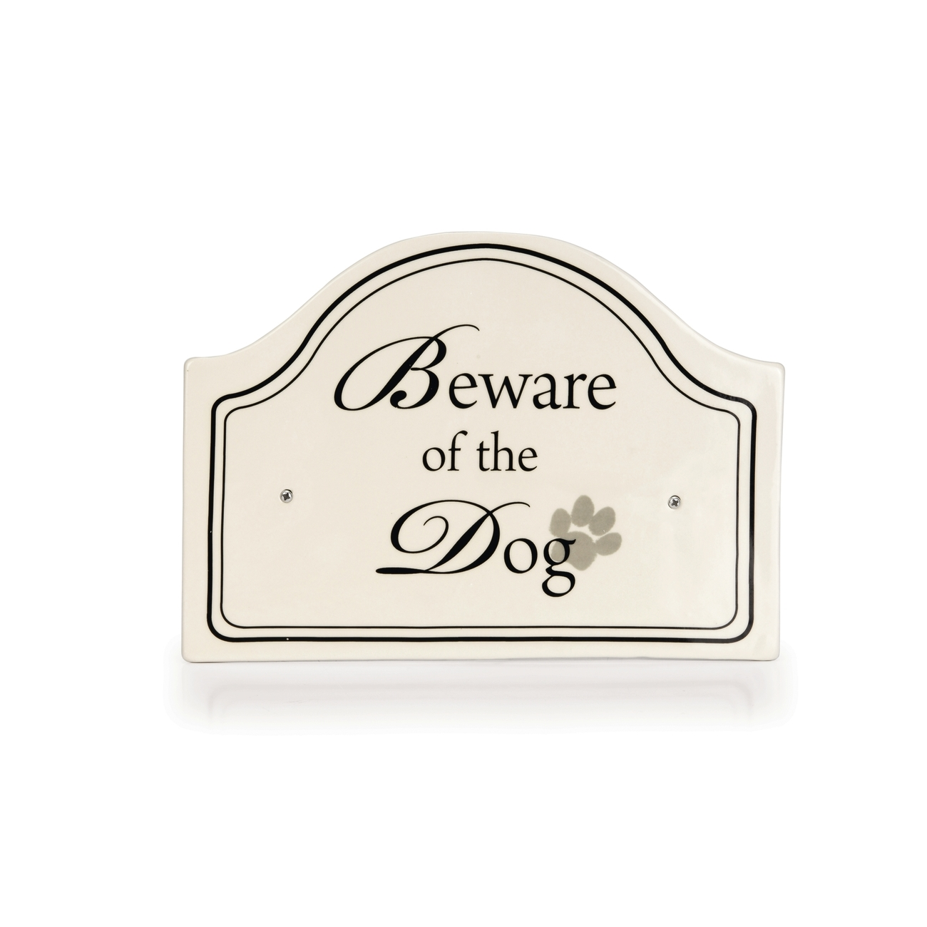 """Designed By Lotte Keramikschild """"Beware of the Dog"""" - Designed by Lotte"""
