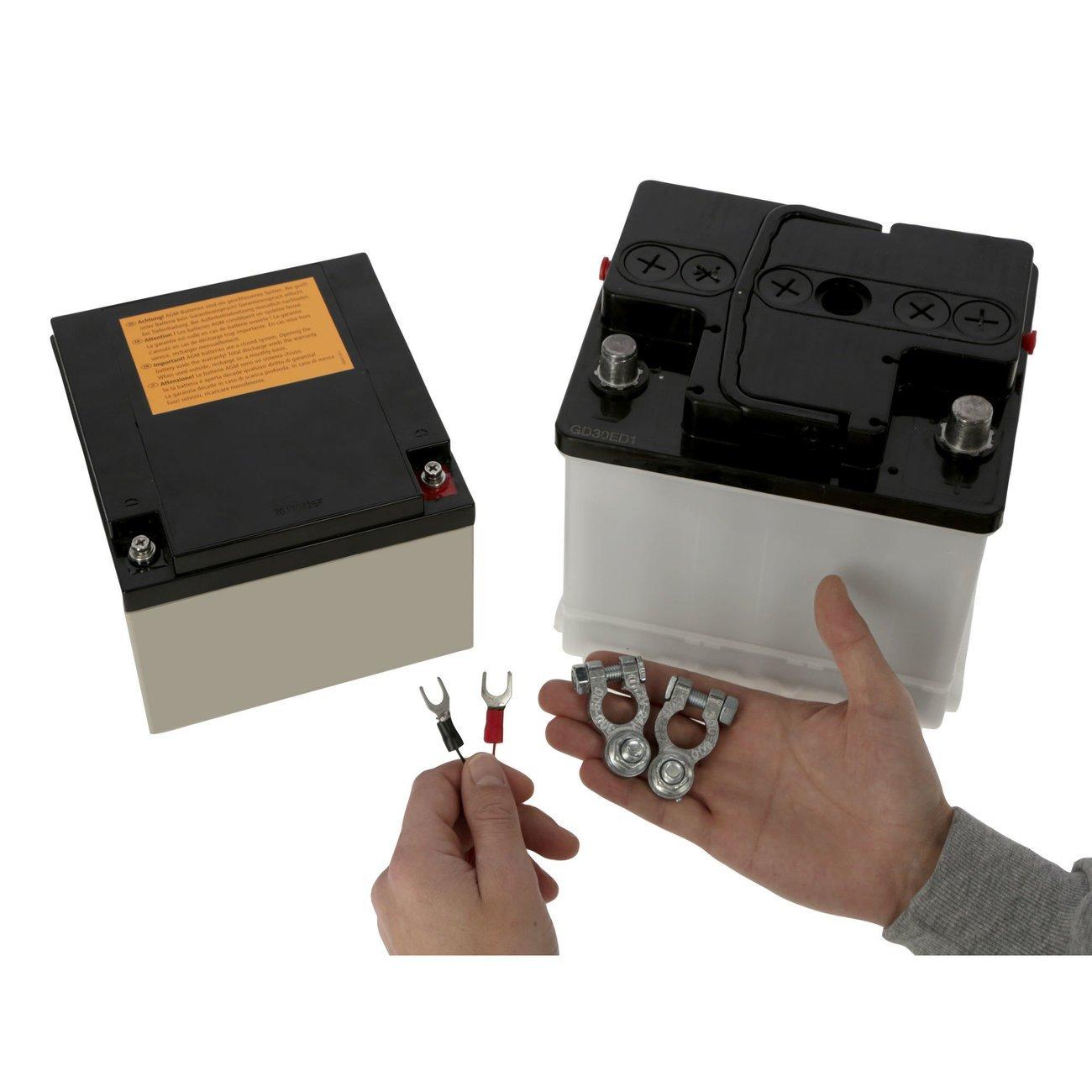 Kerbl Anschlusskabel für Weidezaunbatterie, Bild 4