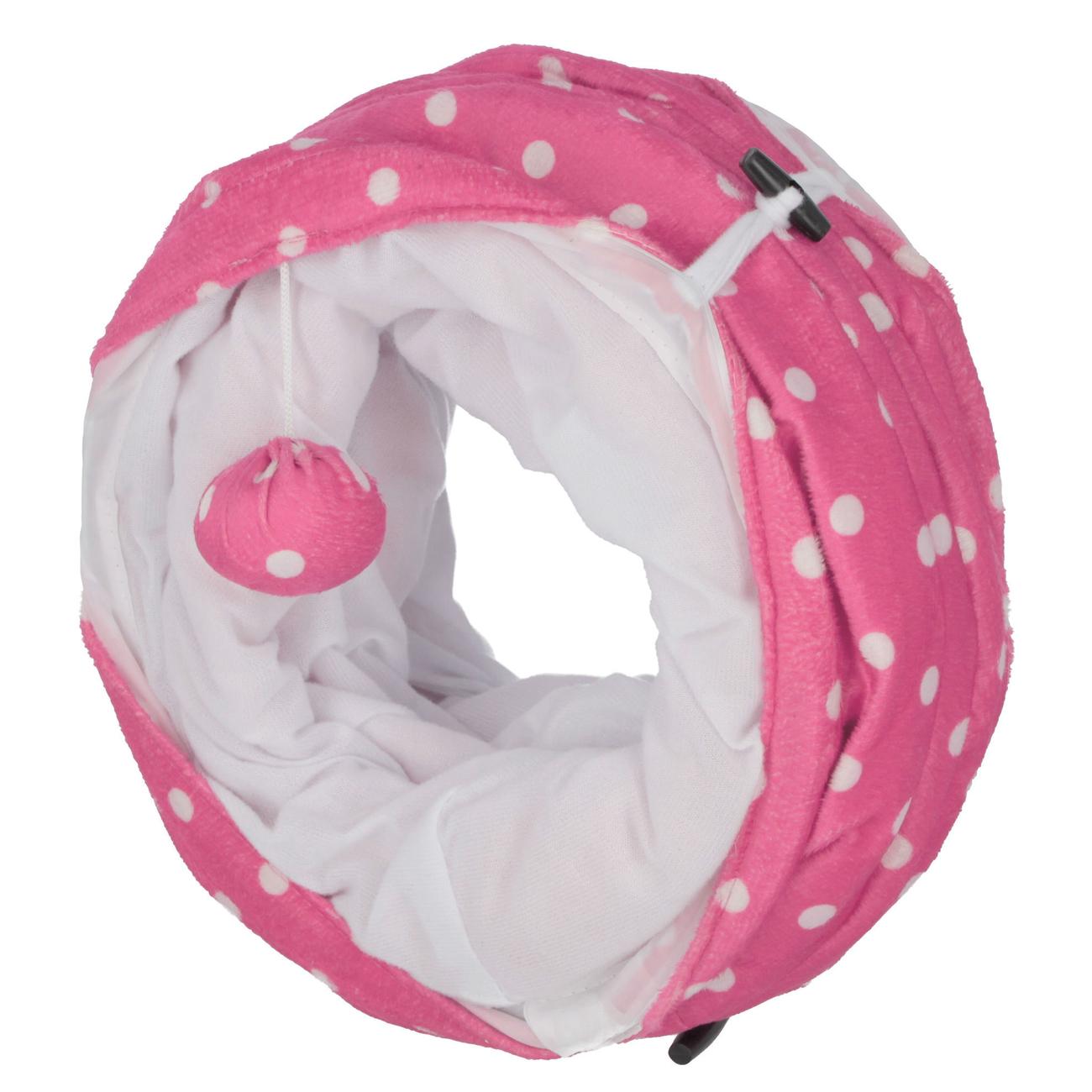 Kerbl Katzentunnel Puntino pink, Bild 4