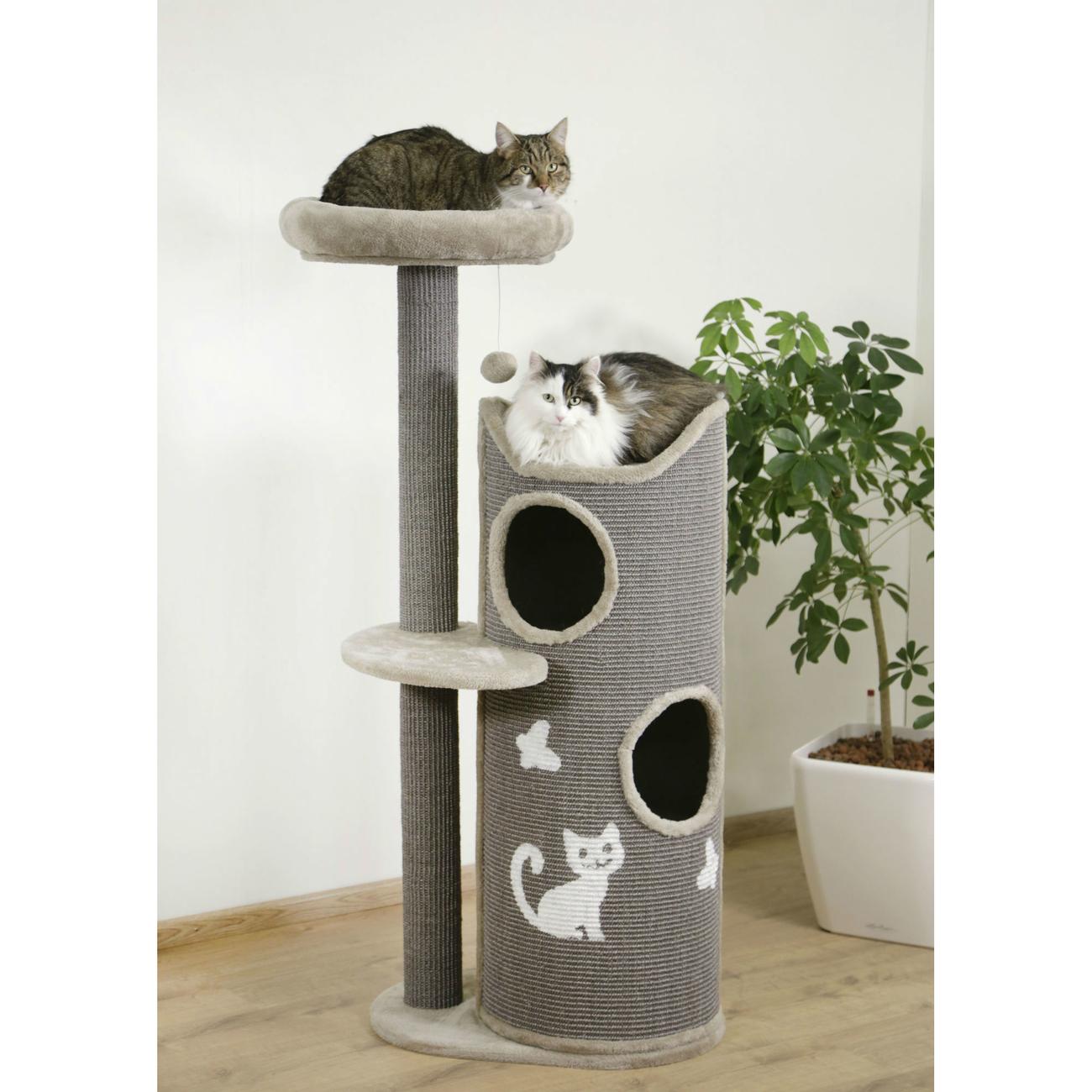 Kerbl Kratztonne für Katzen Tiana grau, Bild 3