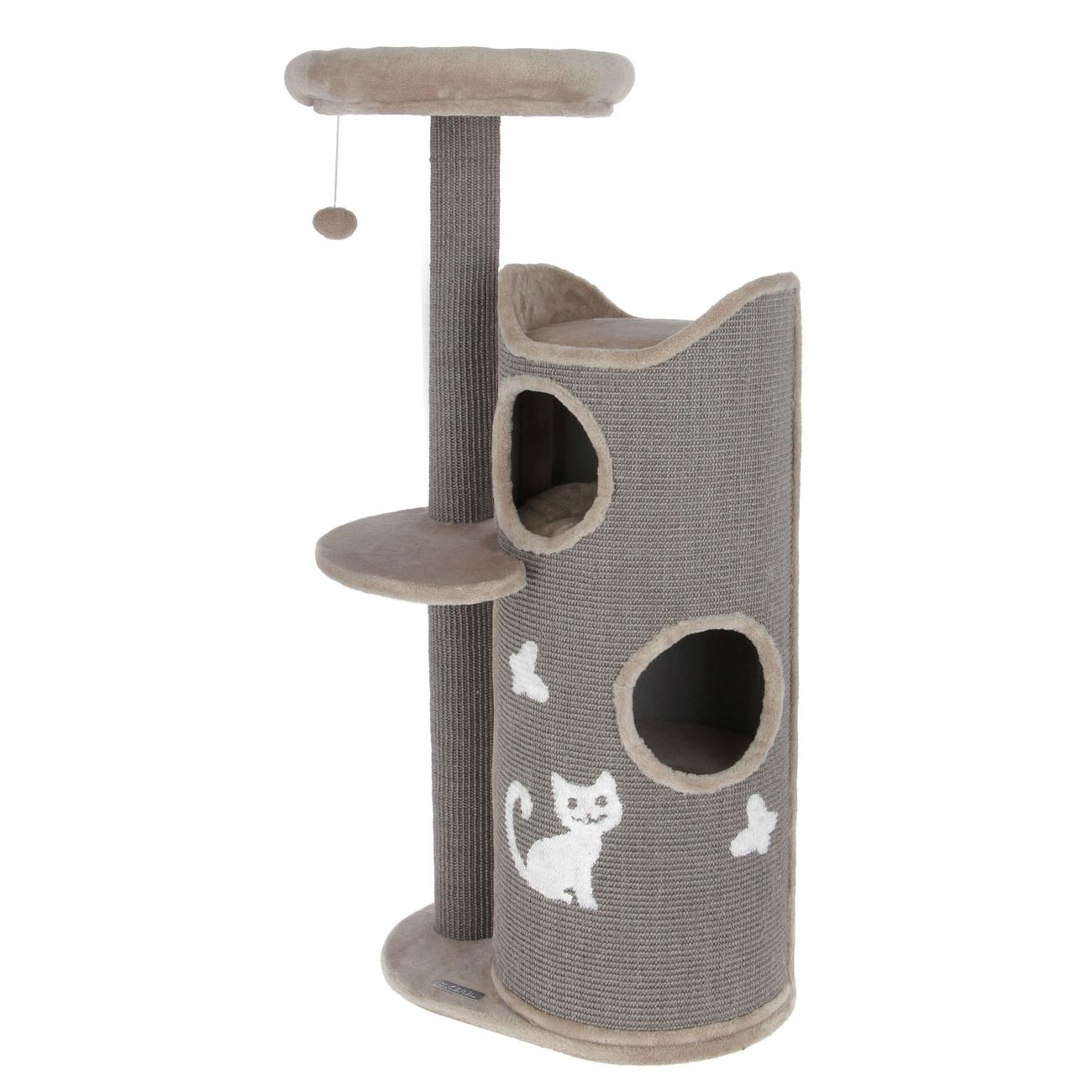 Kerbl Kratztonne für Katzen Tiana grau, Bild 2