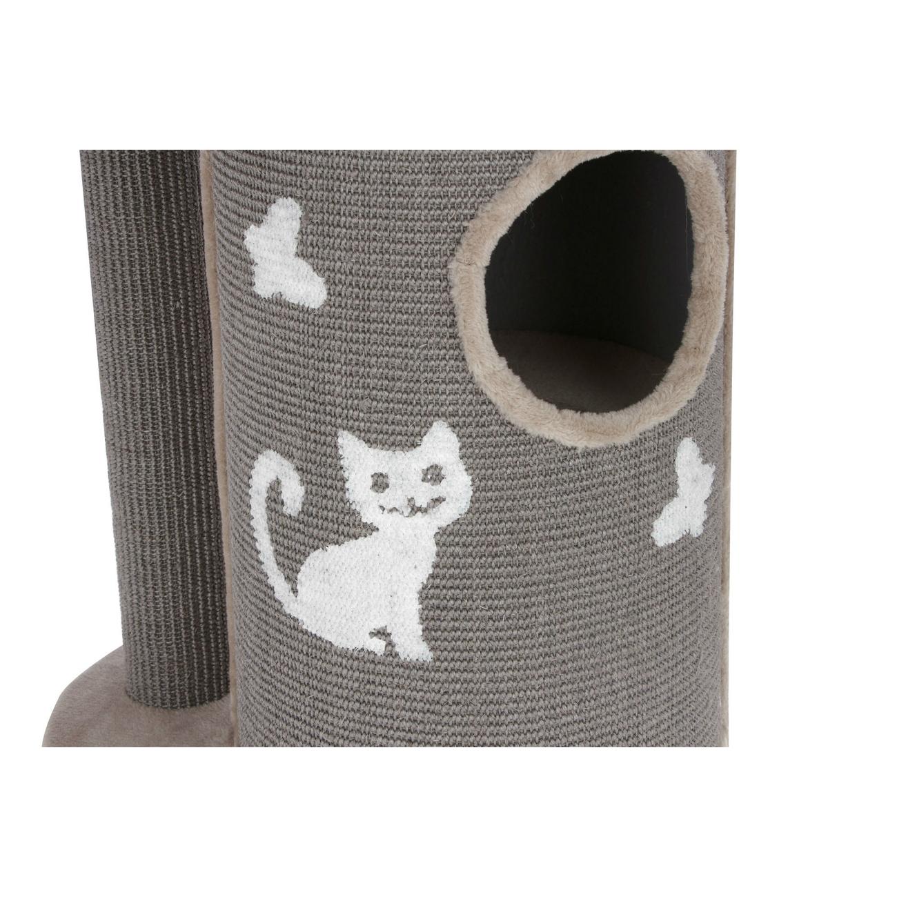Kerbl Kratztonne für Katzen Tiana grau, Bild 6