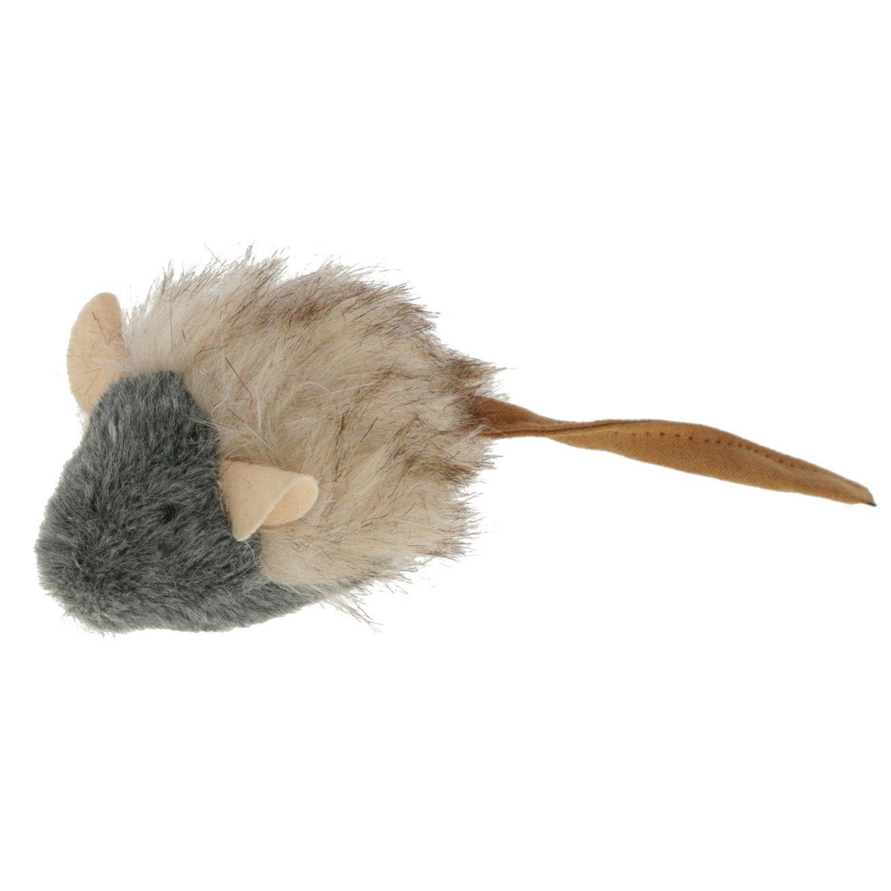 Kerbl Spielmaus mit Sound, 15 x 5 cm