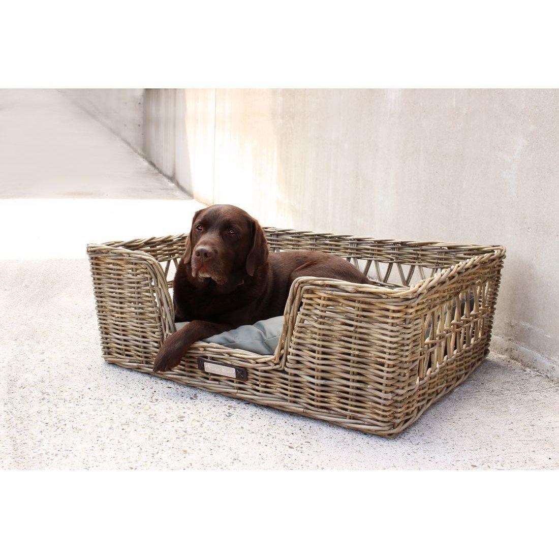 Happy House Klassischer Luxury Rattankorb für Hunde, Bild 2