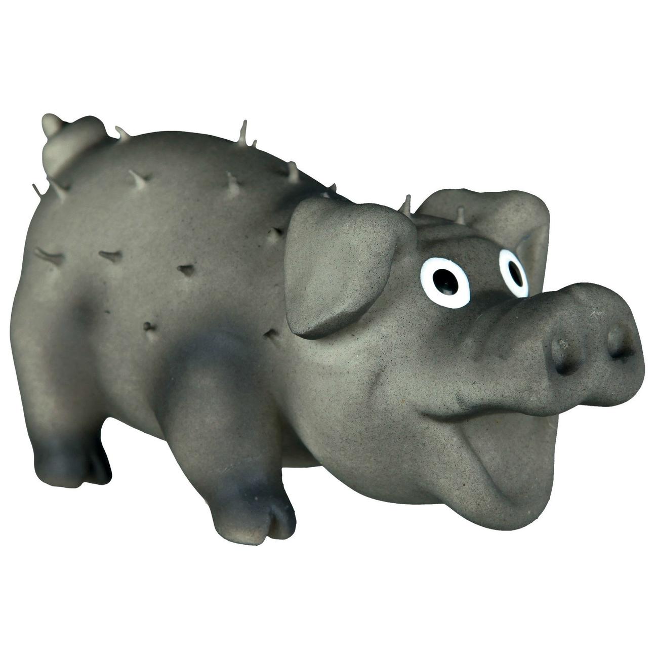 Trixie Kleines Borstenschwein aus Latex, 10 cm
