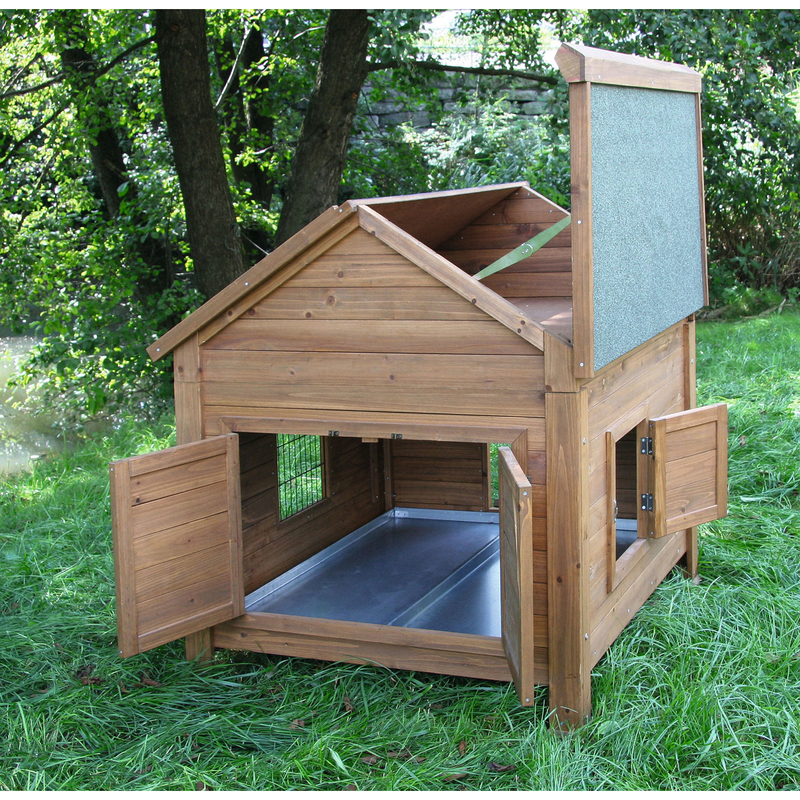 Kerbl Kleintierstall für Hühner oder Kaninchen, Bild 4
