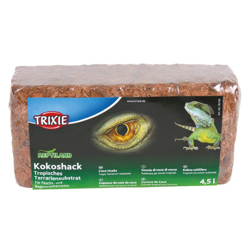 Trixie Kokoshack Terrarium Substrat, 4,5 l