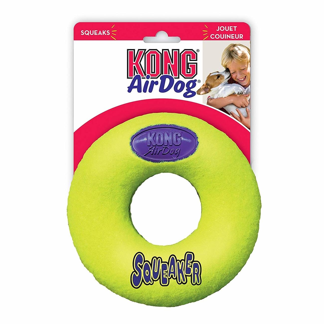 KONG Airdog Donut mit Quietscher