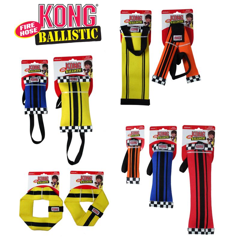 KONG Ballistic Firehose Feuerwehrschlauch Hundespielzeug, Bild 2