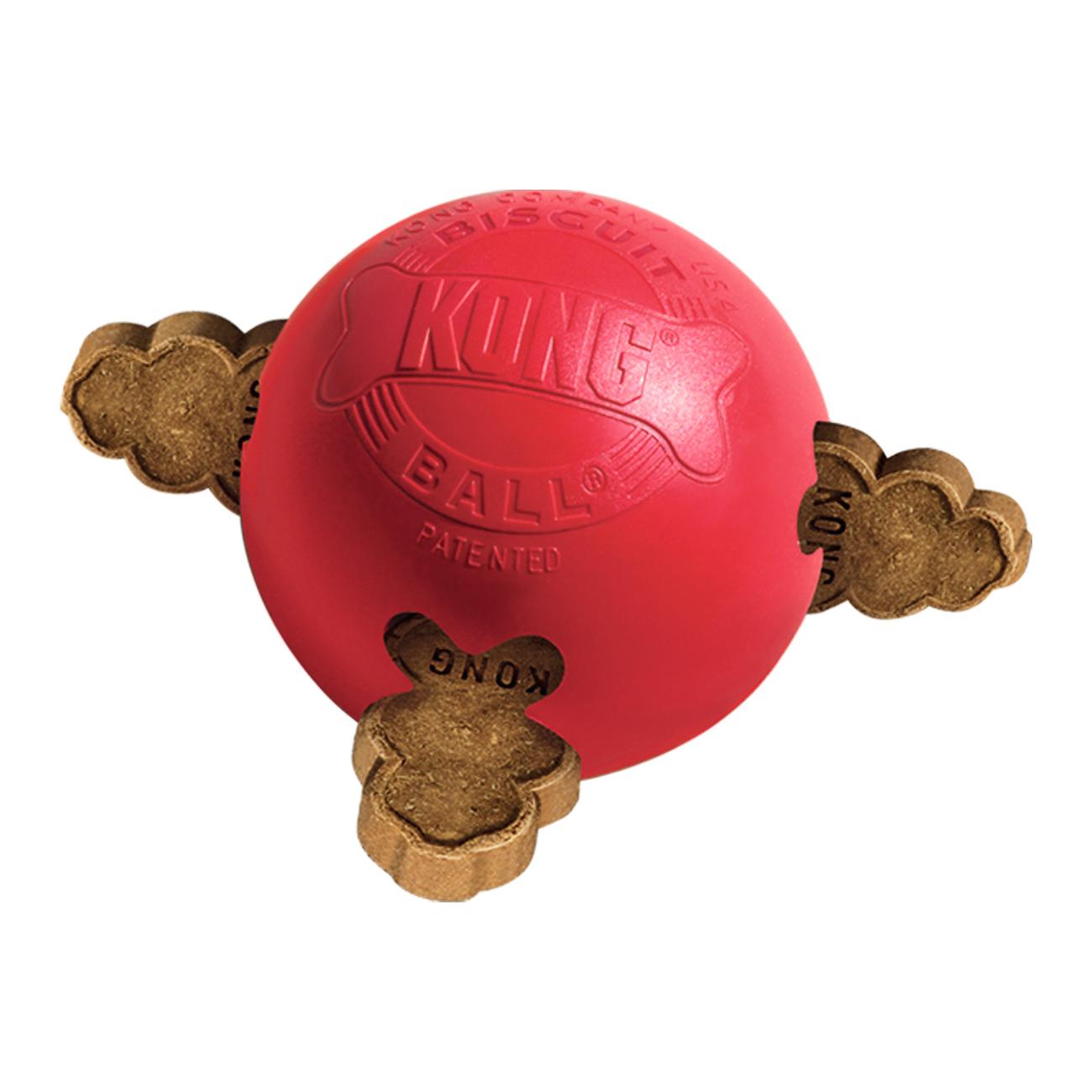 KONG Biscuit Ball Hundespielzeug