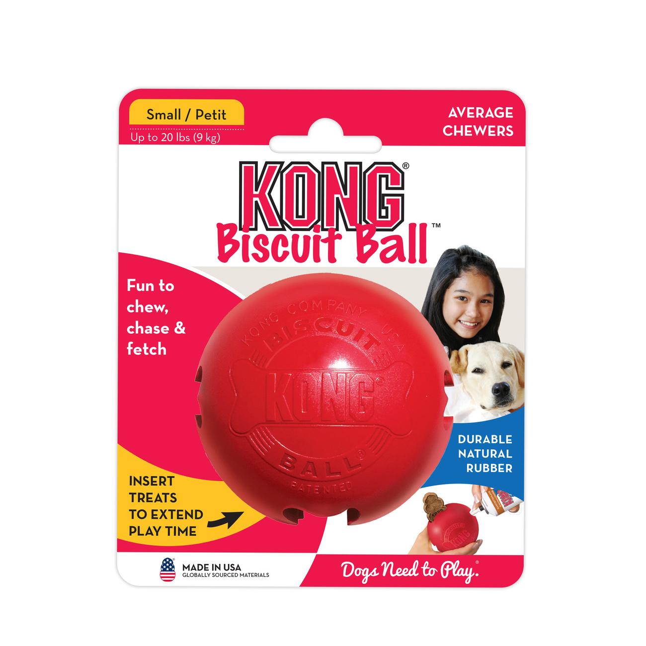 KONG Biscuit Ball Hundespielzeug, Bild 2