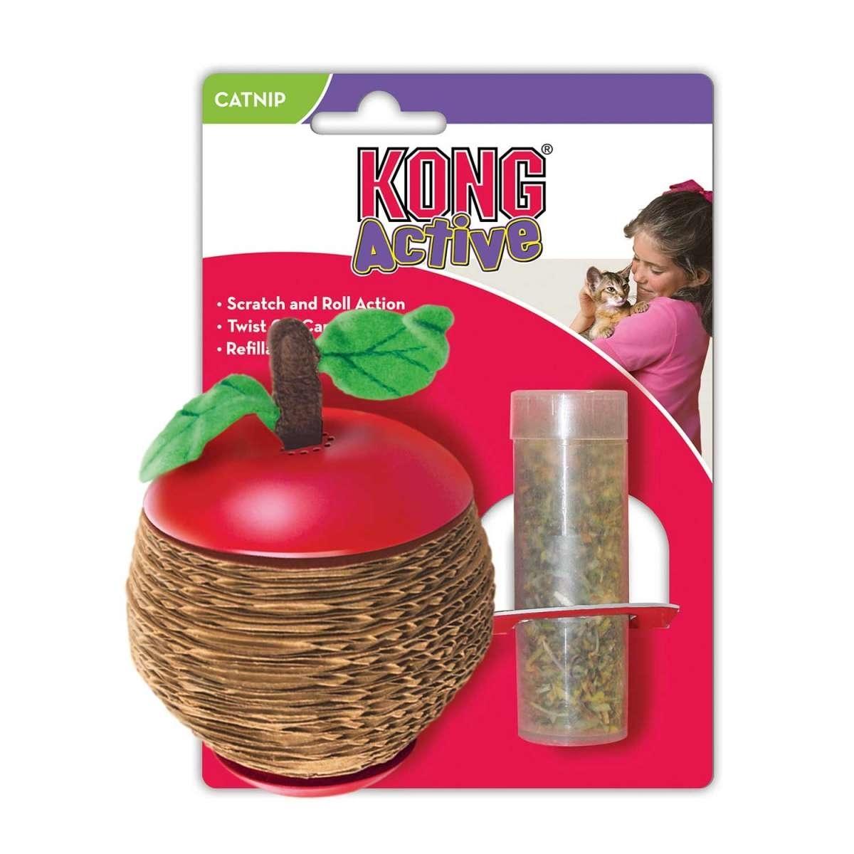 KONG Cat Scratch Apple