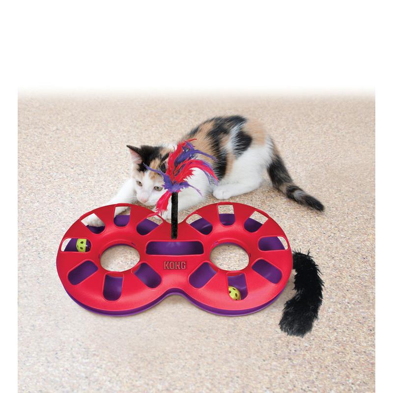 KONG Eight Track Katzenspiel, Bild 3