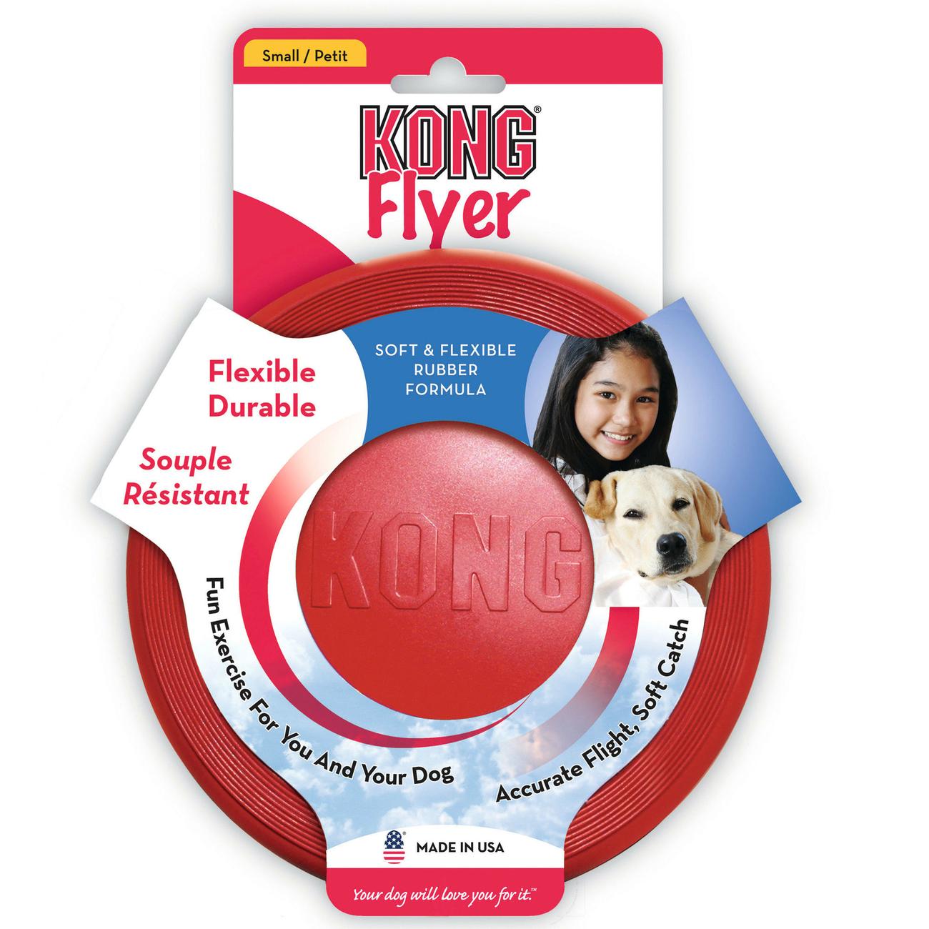 KONG Flyer Hunde Frisbee, Bild 2
