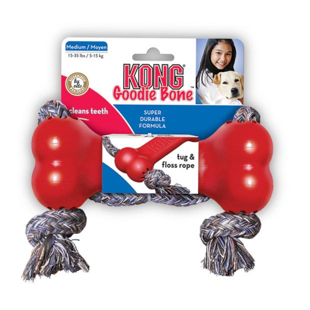 KONG Goodie Bone mit Seil, Bild 2