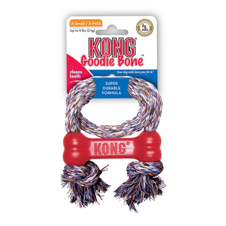 KONG Goodie Bone mit Seil