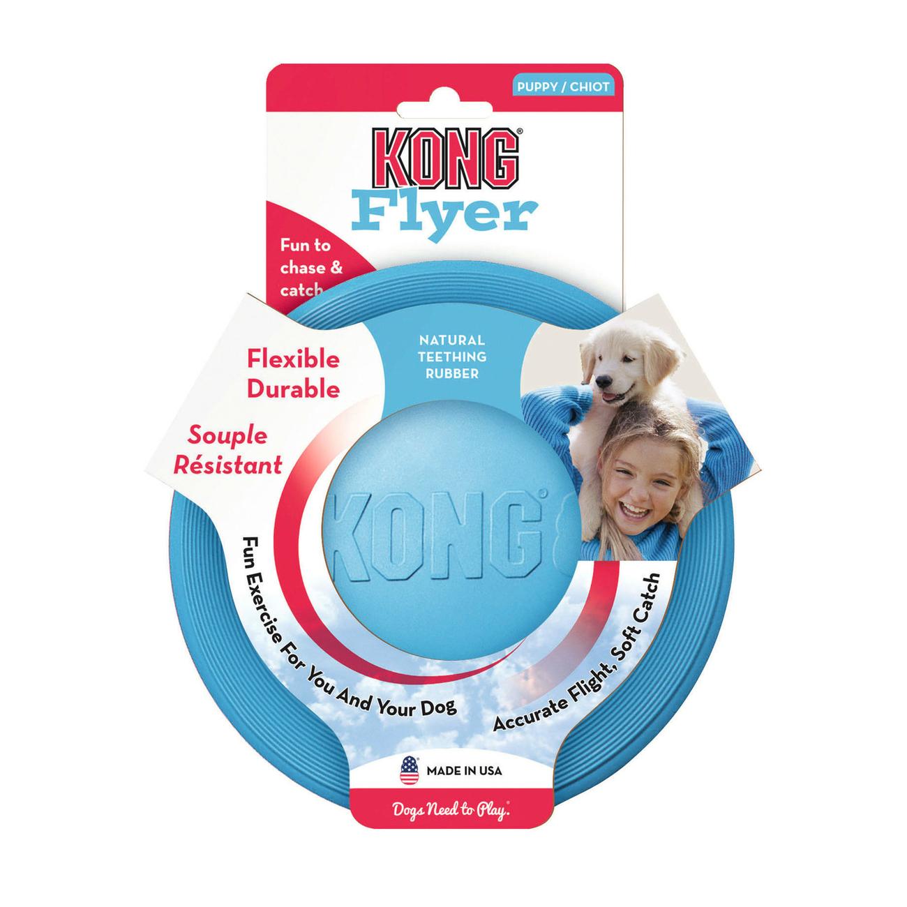 KONG Puppy Flyer Frisbee für Welpen, Bild 5