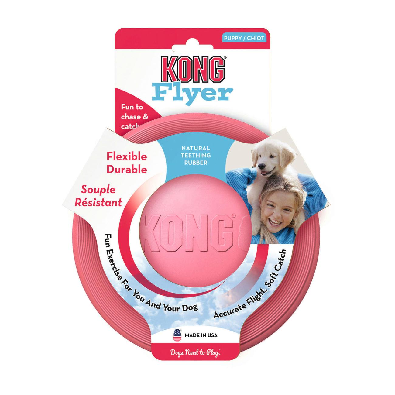 KONG Puppy Flyer Frisbee für Welpen, Bild 6