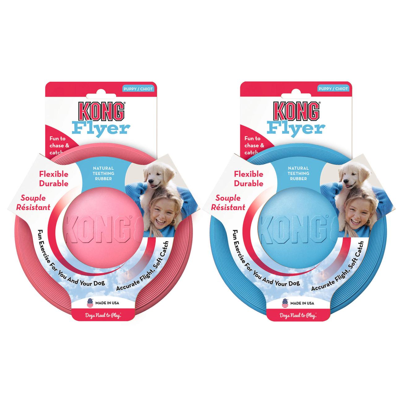 KONG Puppy Flyer Frisbee für Welpen, Bild 2