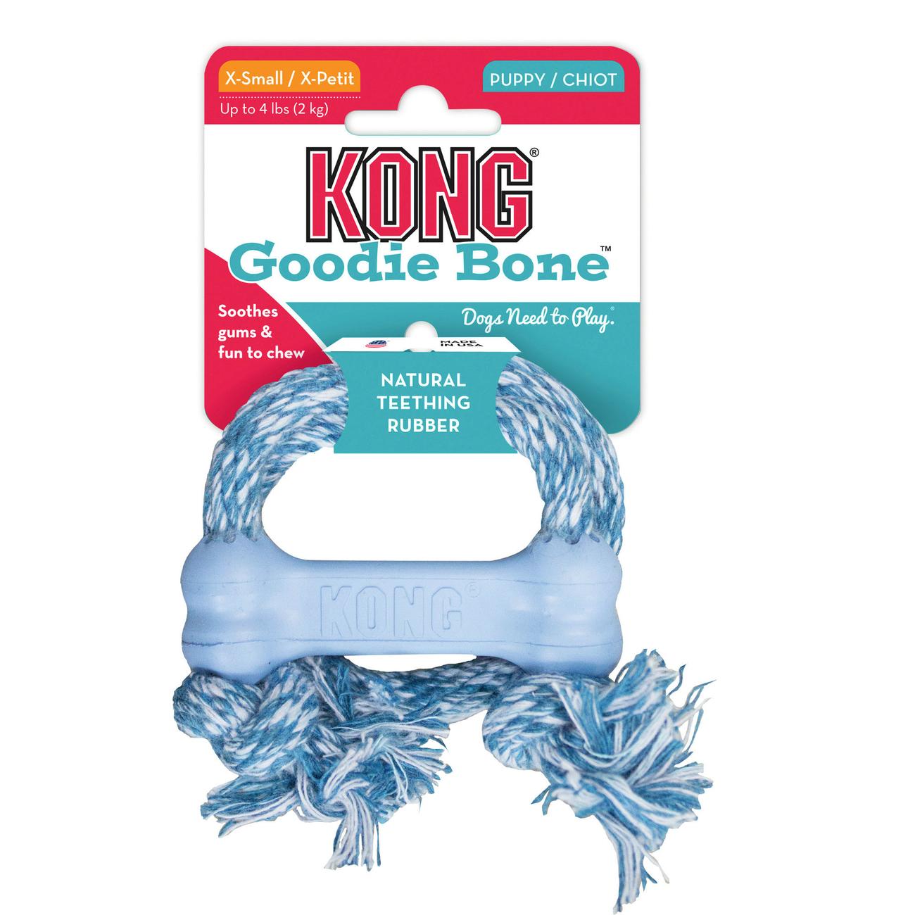 KONG Puppy Goodie Bone mit Seil, Bild 2