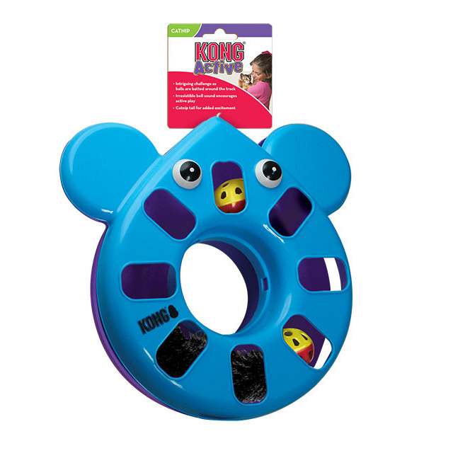 KONG Puzzle Toy Katzenspielzeug, Maus
