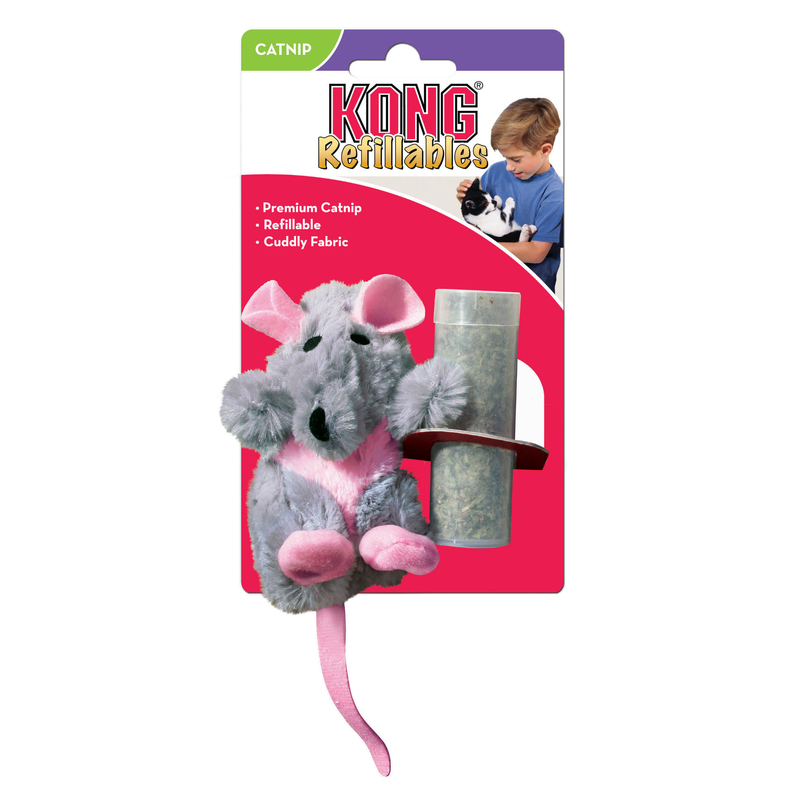 KONG Rat Catnip Katzenspielzeug, ca 16 cm