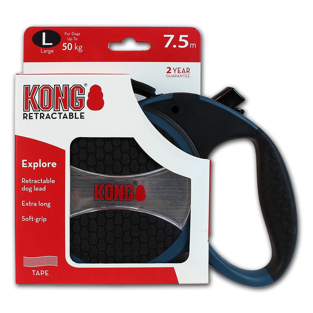KONG Rollleine Explore, L, blau