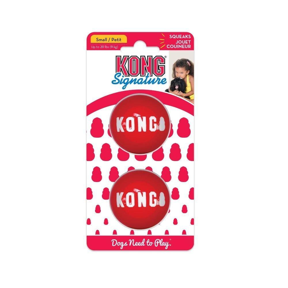 KONG Signature Balls Hundeball 2er Pack, Bild 3