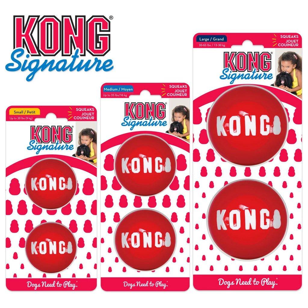 KONG Signature Balls Hundeball 2er Pack, Bild 2