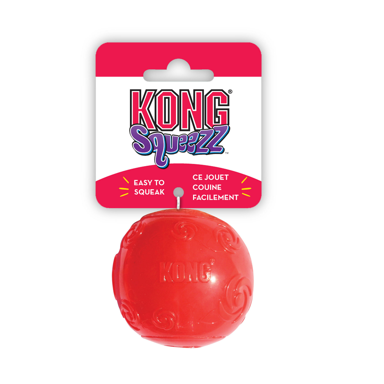 KONG Squeezz Ball Hundespielzeug, Bild 2