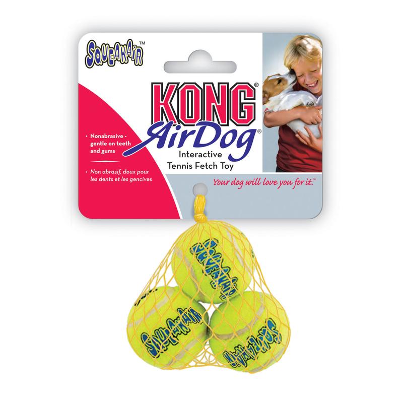 KONG Tennisbälle AirDog mit Squeaker für Hunde, Bild 5