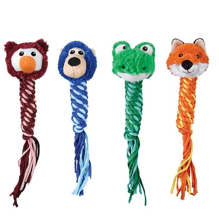 KONG Winders Hundespielzeug, Frosch, ca. 38 cm