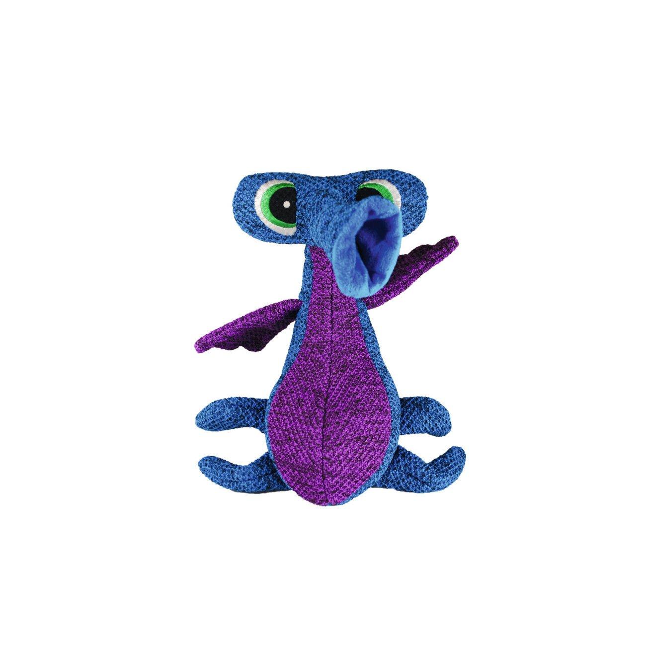 KONG Woozles, blau, 28 cm