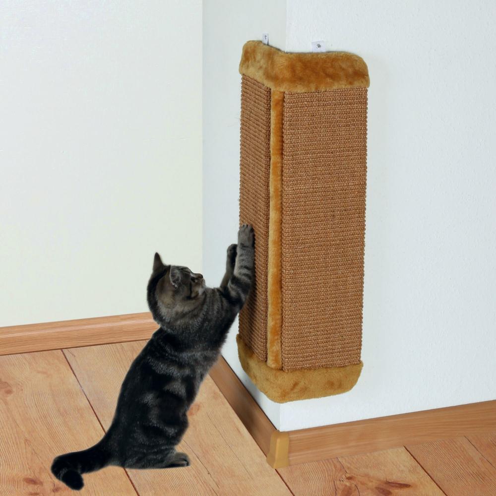 TRIXIE Kratzbrett für Zimmerecken mit Katzenminze 43431, Bild 4