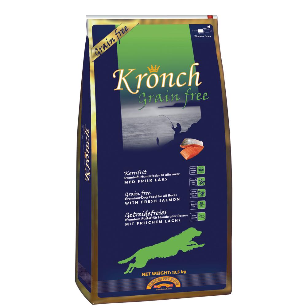 Henne Petfood Kronch Grainfree Hundefutter, 13,5 kg