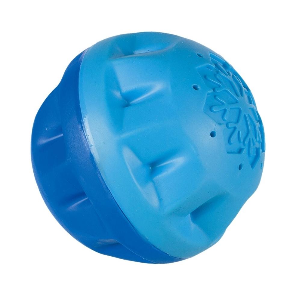 Trixie Hunde Kühl-Ball, TPR, kühlendes Hundespielzeug, ø 8 cm
