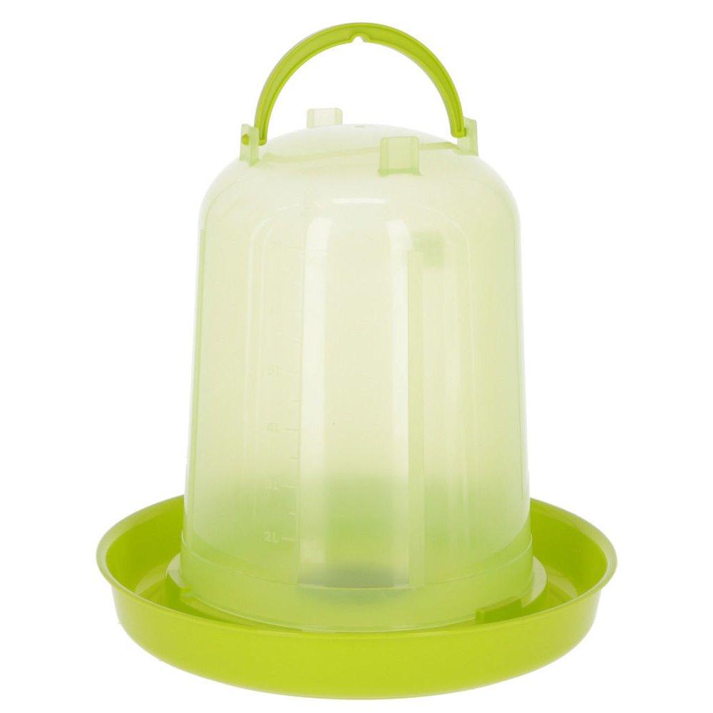 Kerbl Kunststoff-Tränke mit Stöpsel, 8 l, für Küken und Hühner
