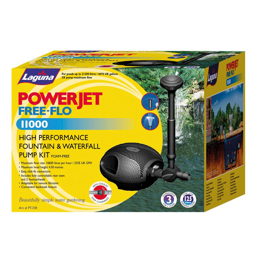 Hagen Laguna Teichpumpe PowerJet Free-Flo, Free-Flo 11000