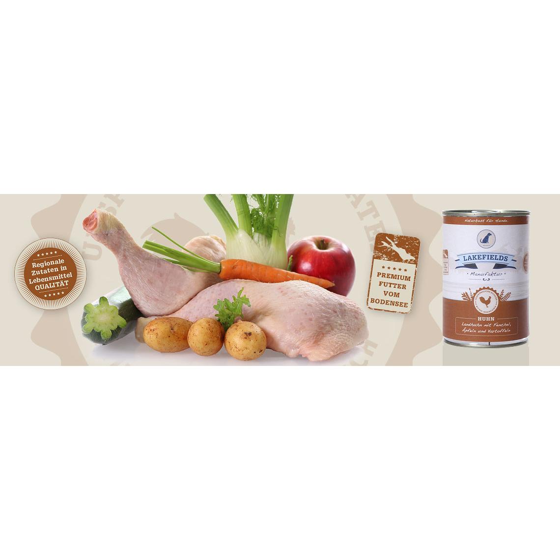 Lakefields Dosenfleisch-Menü Huhn, Bild 5
