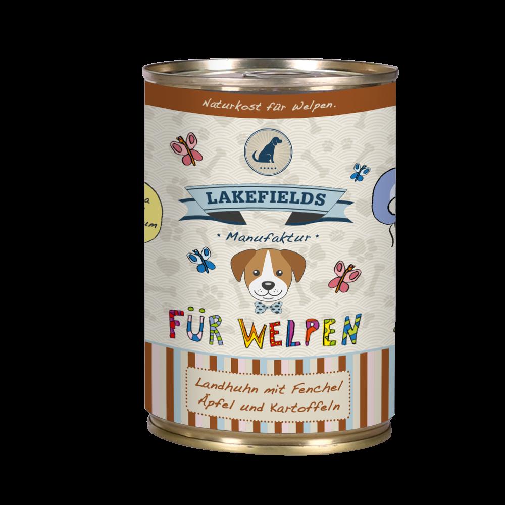 Lakefields Dosenfleisch-Menü Huhn für Welpen, Bild 3