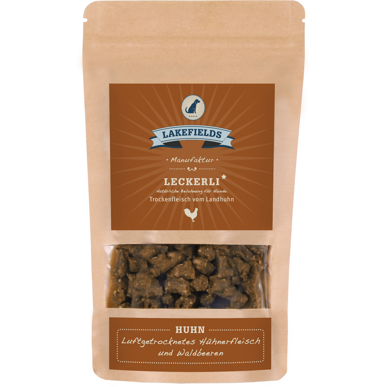 Lakefields Snacks Huhn, 150 g