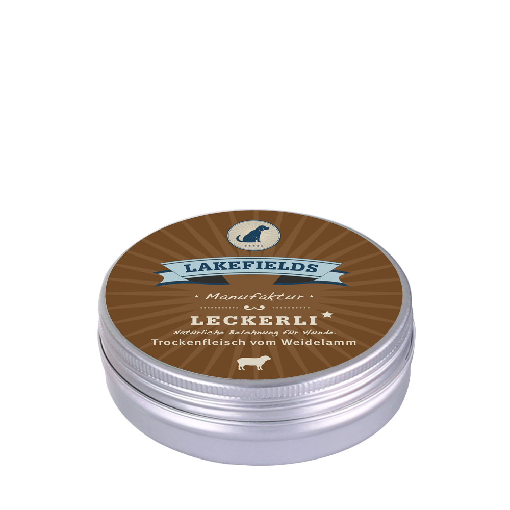 Lakefields Snacks Lamm, 50 g