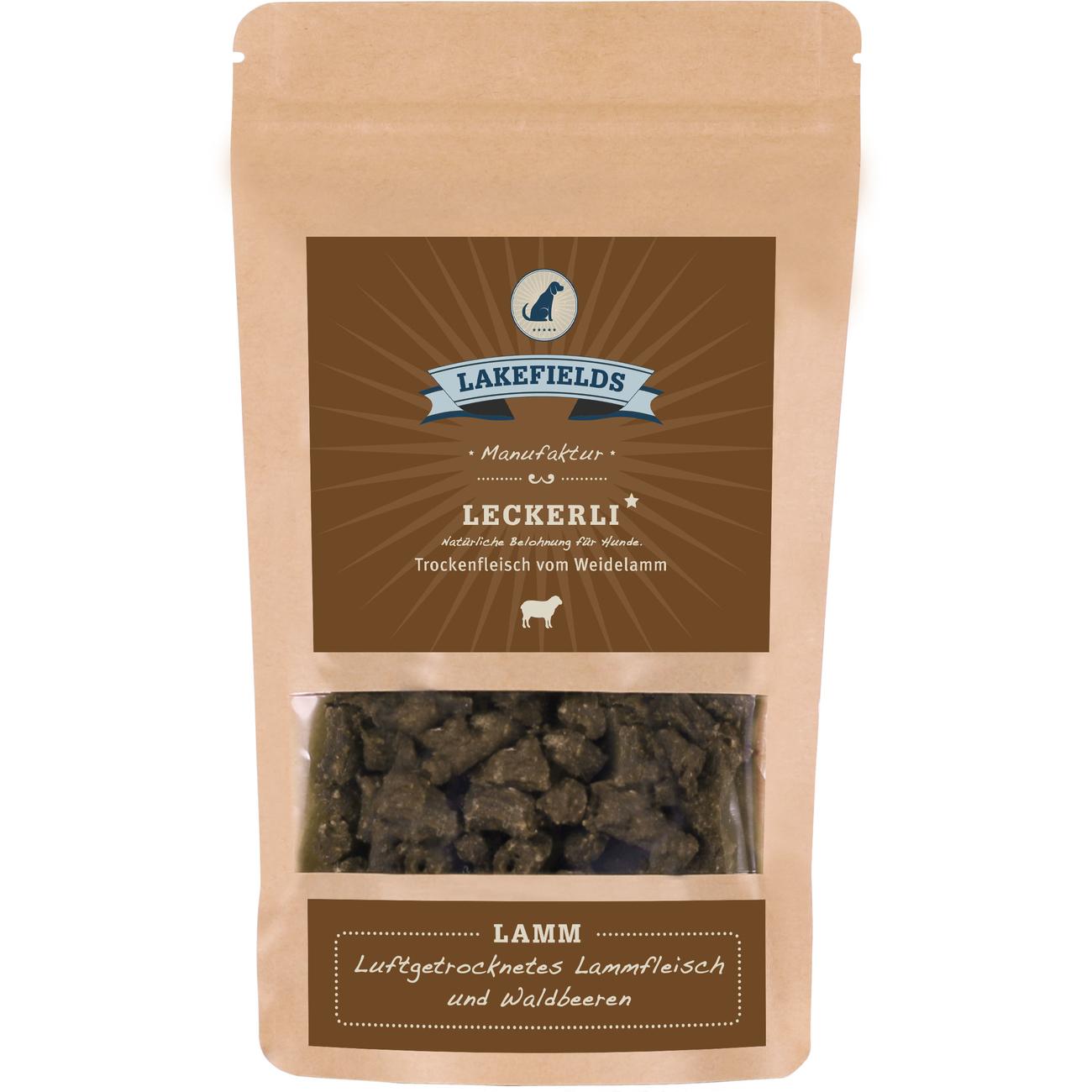 Lakefields Snacks Lamm, 150 g