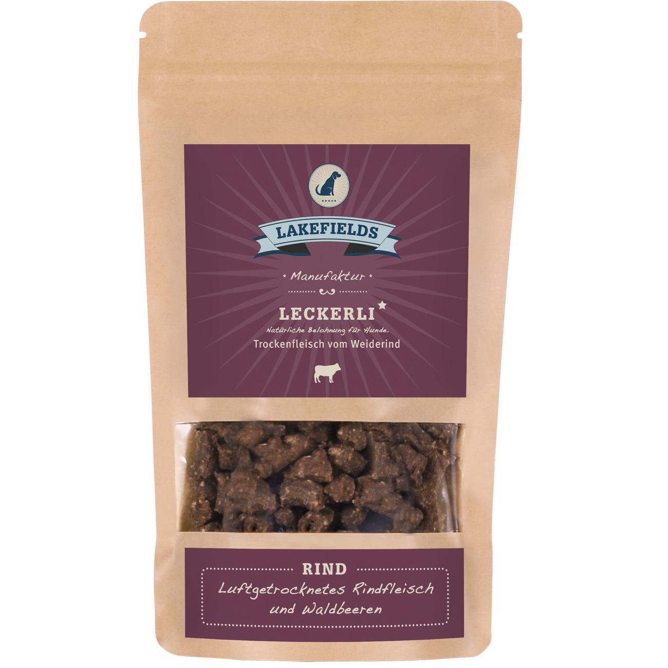 Lakefields Snacks Rind, 150 g