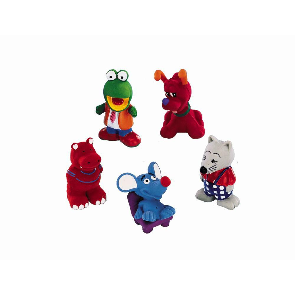 Nobby Latex Tierfiguren Hundespielzeug, 8 - 10 cm, verschiedene Figuren